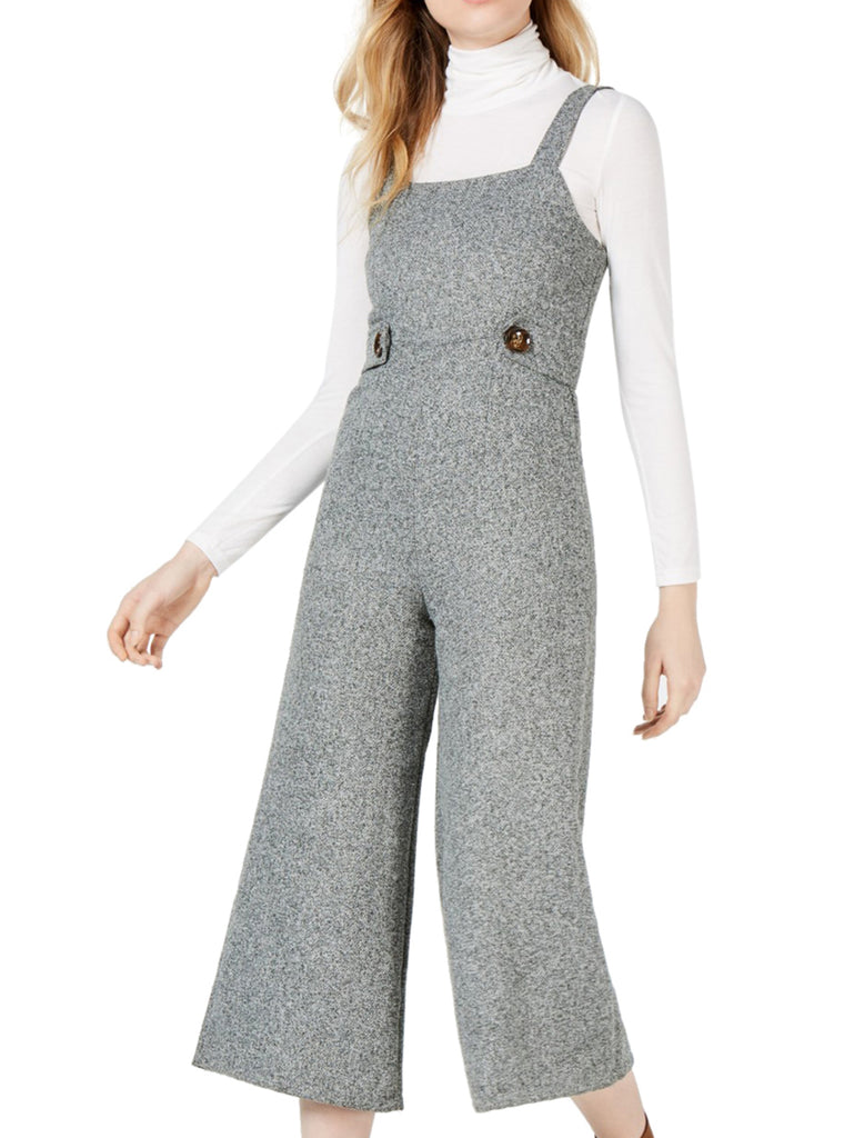 Yieldings Discount Clothing Store's Square Neck Jumpsuit by Sage the Label in Grey