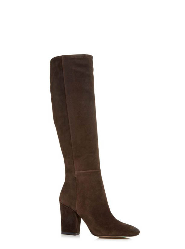 Yieldings Discount Shoes Store's Merrick Boots by Kenneth Cole in Chocolate