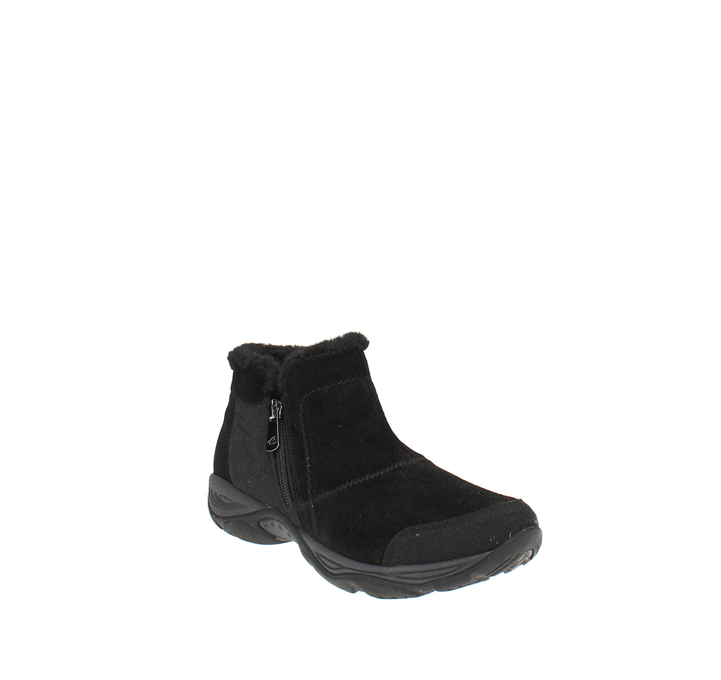 Yieldings Discount Shoes Store's Embark Booties by Easy Spirit in Black