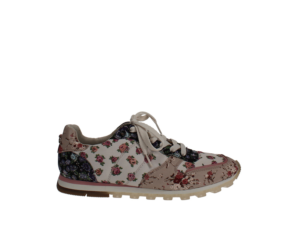 Yieldings Discount Shoes Store's C118 Sneakers by Coach in Chalk Multi / Bechwood