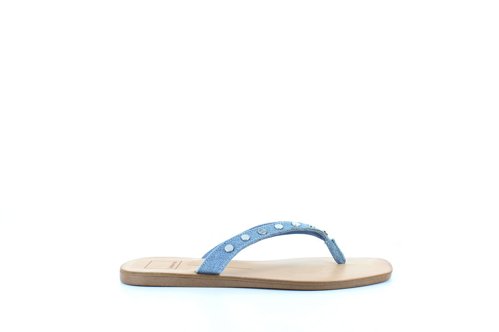 Yieldings Discount Shoes Store's Clyde Sandals by Dolce Vita in Blue Denim