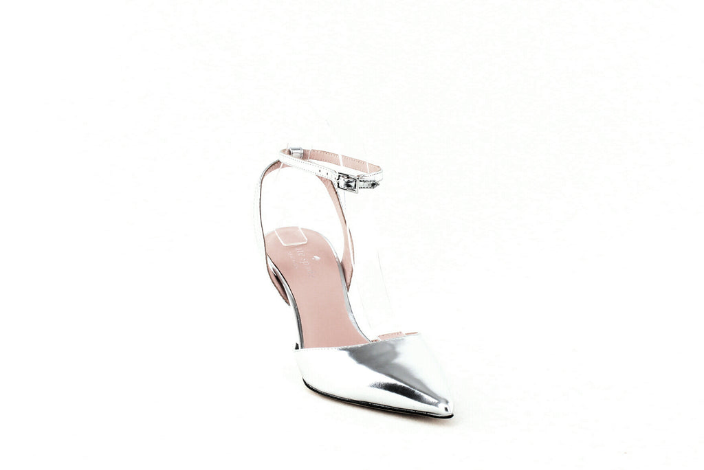 Yieldings Discount Shoes Store's Simone Pumps by Kate Spade in Silver