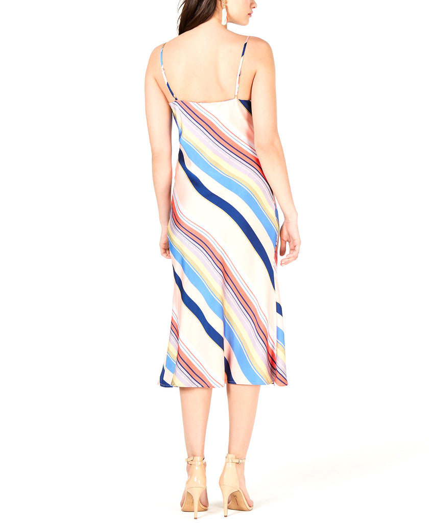 Yieldings Discount Clothing Store's Sienna Rainbow Slip Dress by Lucy Paris in Rainbow