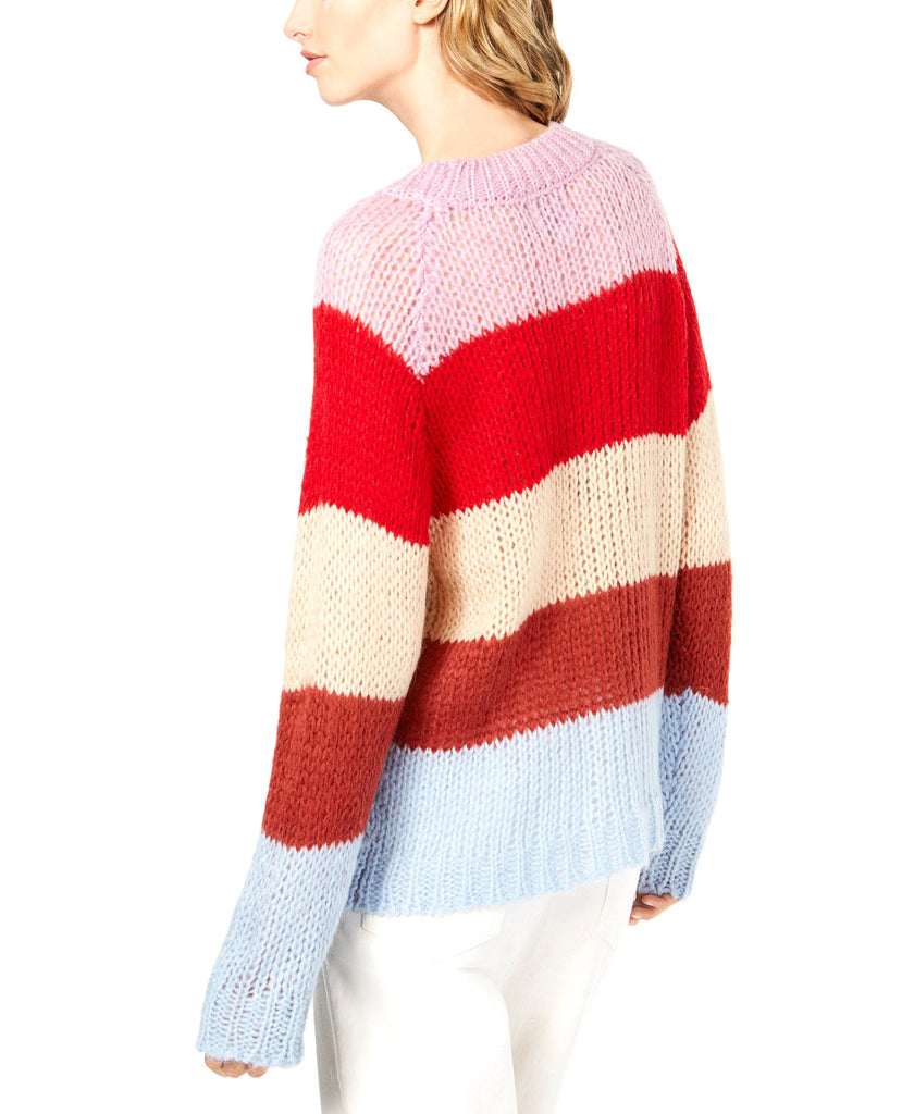 Yieldings Discount Clothing Store's Striped Sweater by JOA in Multi