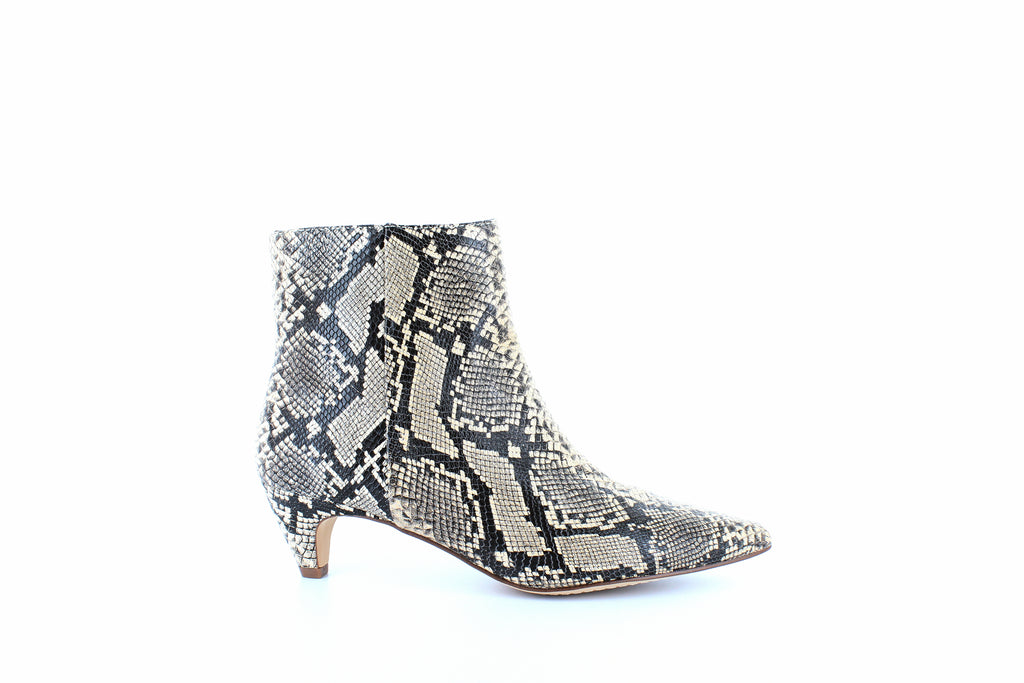 Yieldings Discount Shoes Store's Nettie Ankle Boots by Splendid in Natural Snake