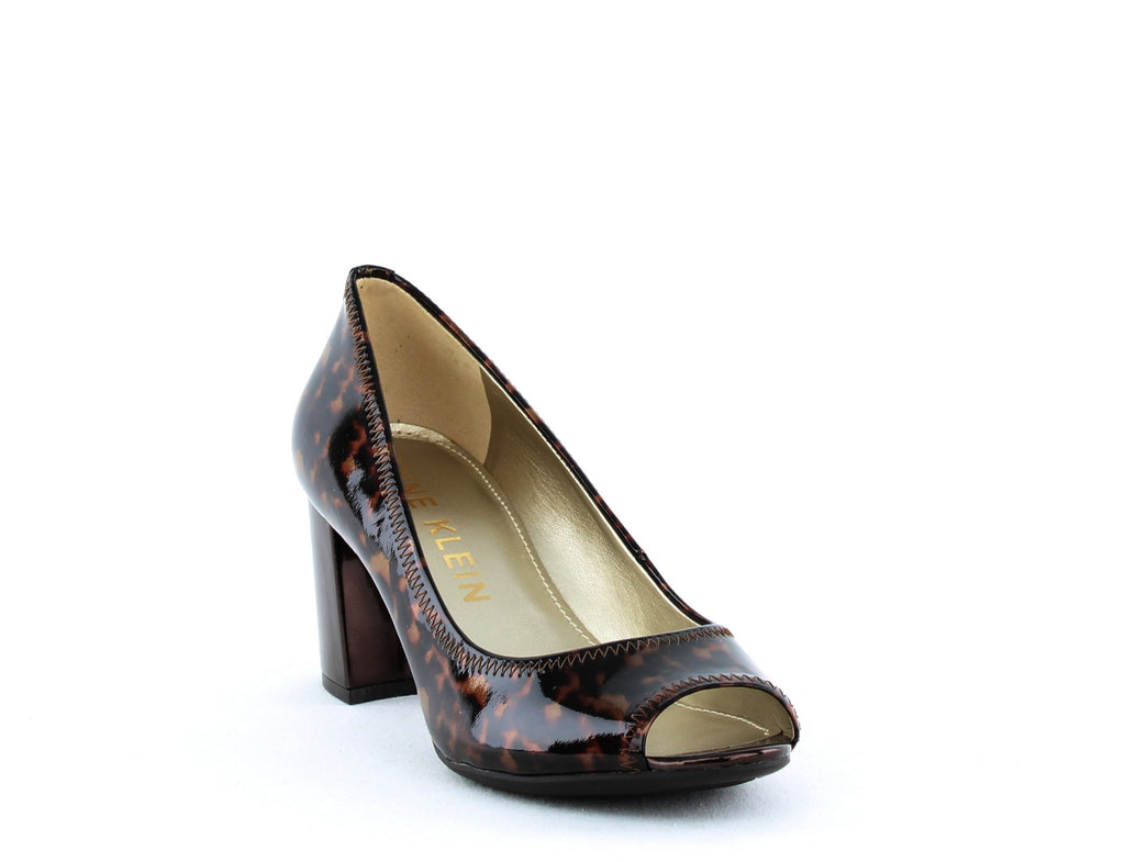 Yieldings Discount Shoes Store's Meredith Pumps by Anne Klein in Brown