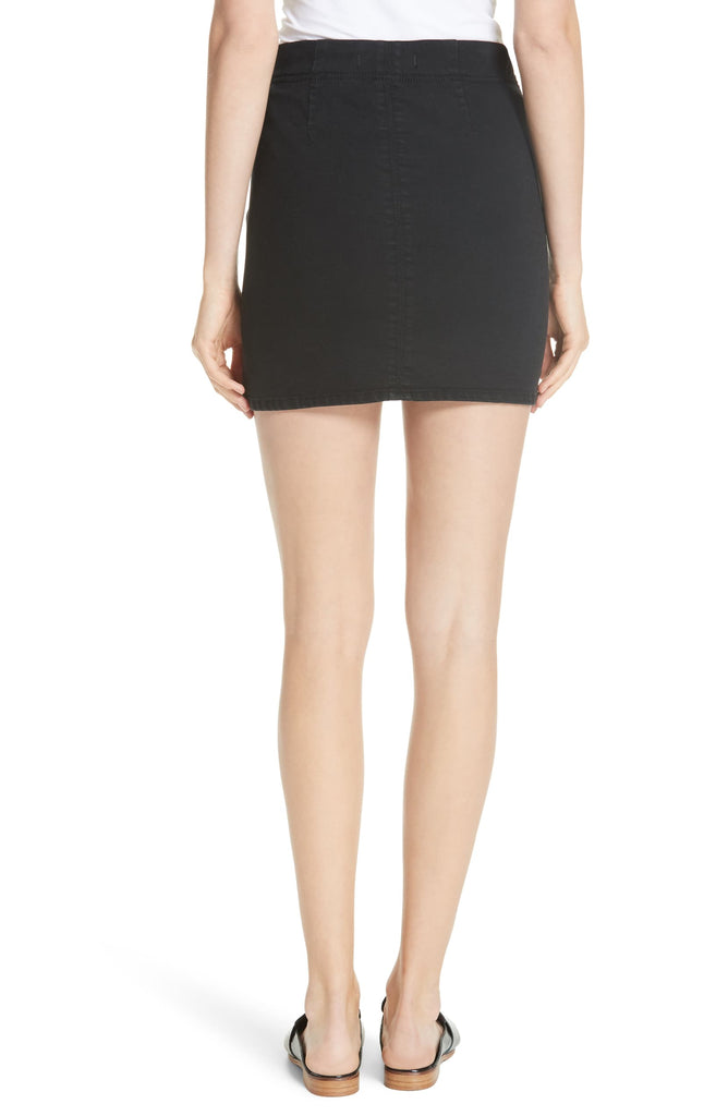 Yieldings Discount Clothing Store's Femme Fatale Skirt by Free People in True Black