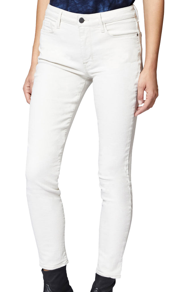 Yieldings Discount Clothing Store's Social Ankle Skinny Standard Rise Jeans by Sanctuary in Salt