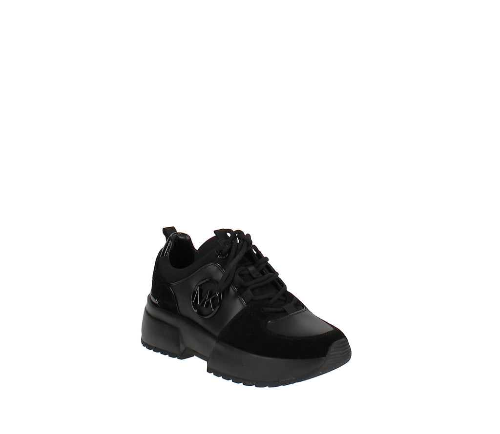 Yieldings Discount Shoes Store's Cosmo Trainer Sneakers by MICHAEL Michael Kors in Black