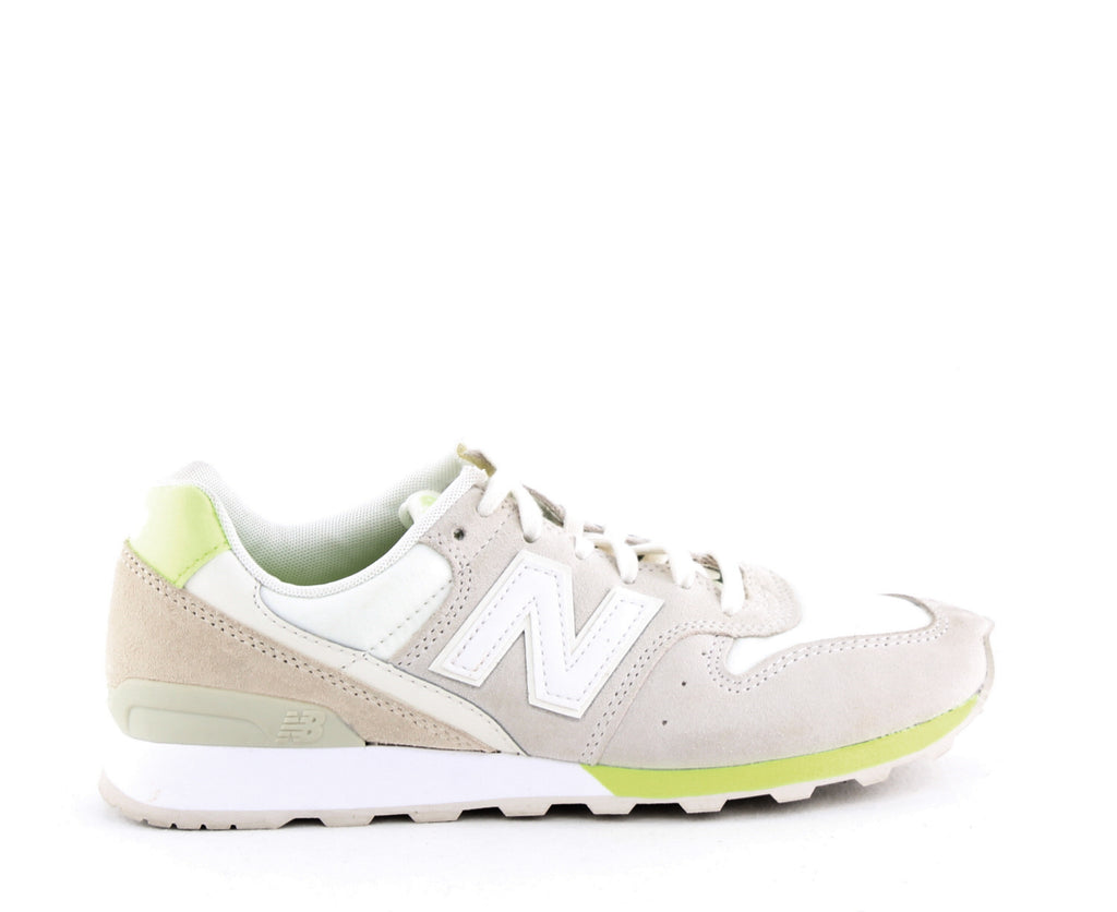 Yieldings Discount Shoes Store's Classics Lace Up Sneakers by New Balance in Beige/Yellow