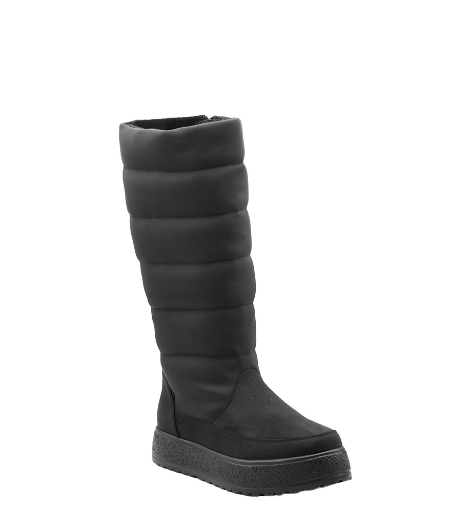 Yieldings Discount Shoes Store's Piperpuff Boots by Adrienne Vittadini in Grey