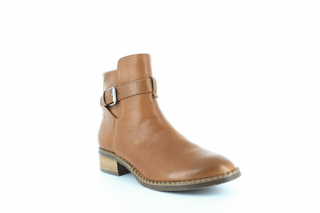 Yieldings Discount Shoes Store's Best Moto Booties by Gentle Souls By Kenneth Cole in Cognac