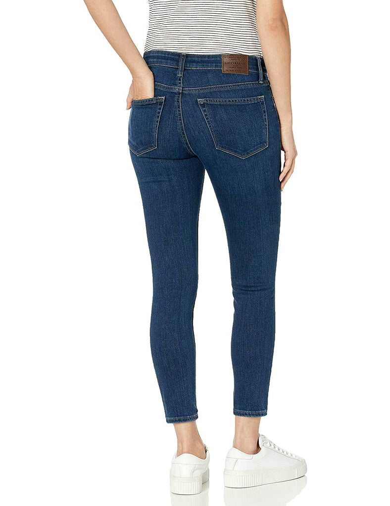 Yieldings Discount Clothing Store's Ava Crop Jeans by Lucky Brand in Trevor