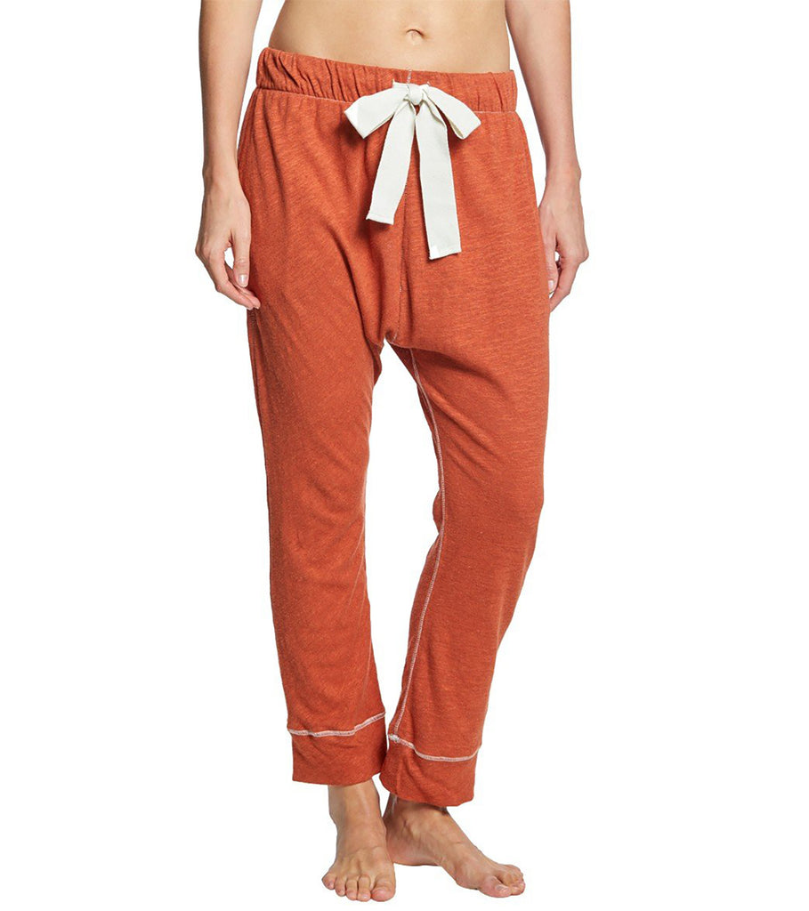 Yieldings Discount Clothing Store's Long Haul Jogger Pants by Intimately By Free People in Copper
