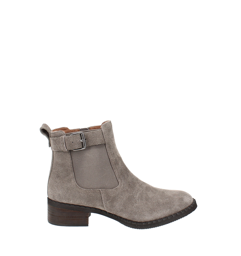 Yieldings Discount Shoes Store's Best Buckle Chelsea Boots by Gentle Souls By Kenneth Cole in Cement