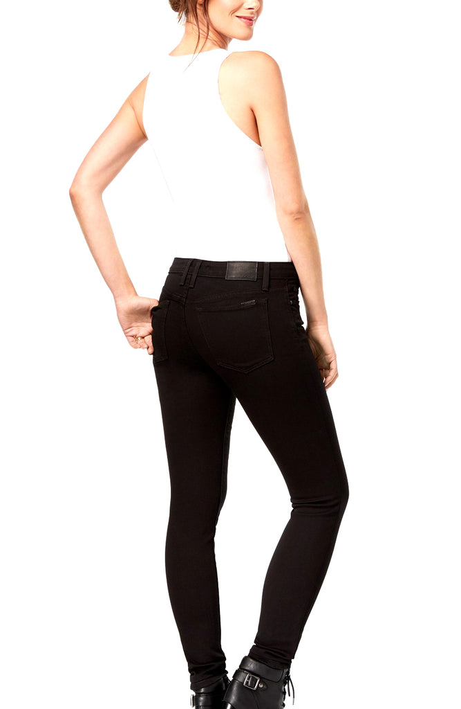 Yieldings Discount Clothing Store's Flawless Mid-Rise Skinny Jeans by Joe's in Black
