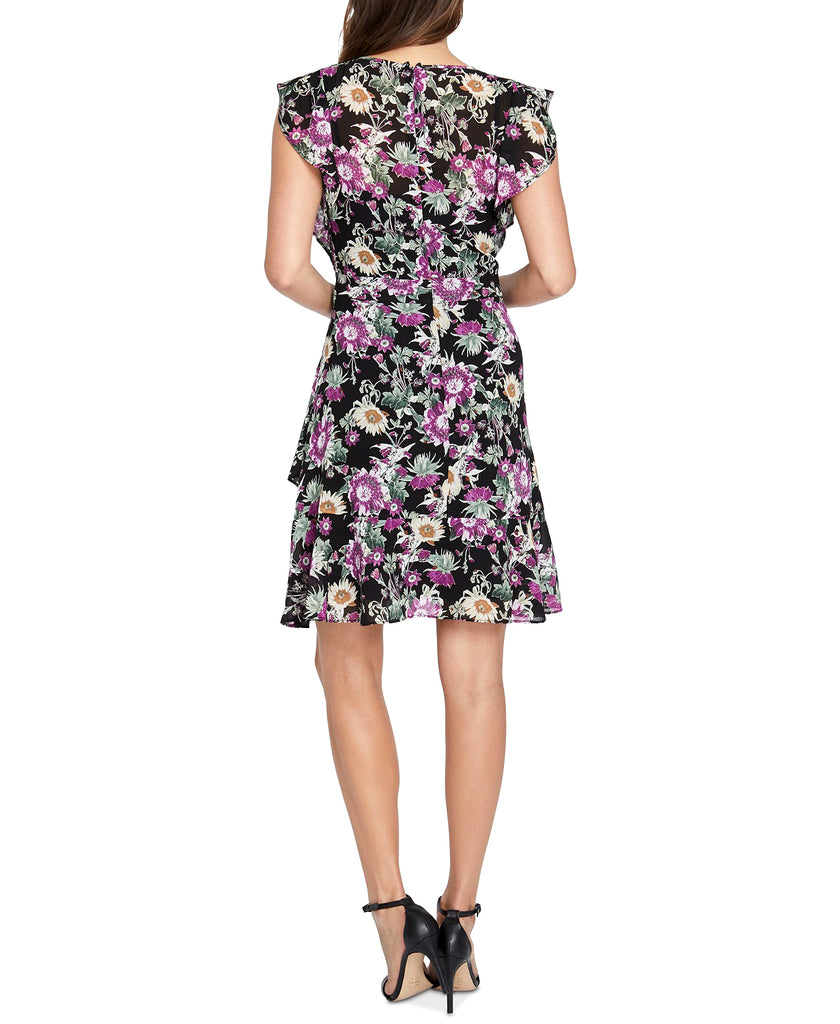 Yieldings Discount Clothing Store's Lora Floral-Print Dress by RACHEL Rachel Roy in Black Combo