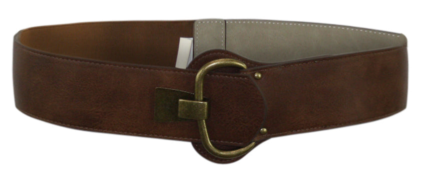 INC | Faux Leather Hook Belt