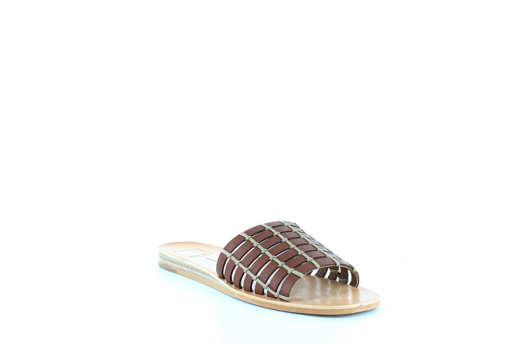 Yieldings Discount Shoes Store's Colsen Slides by Dolce Vita in Brown