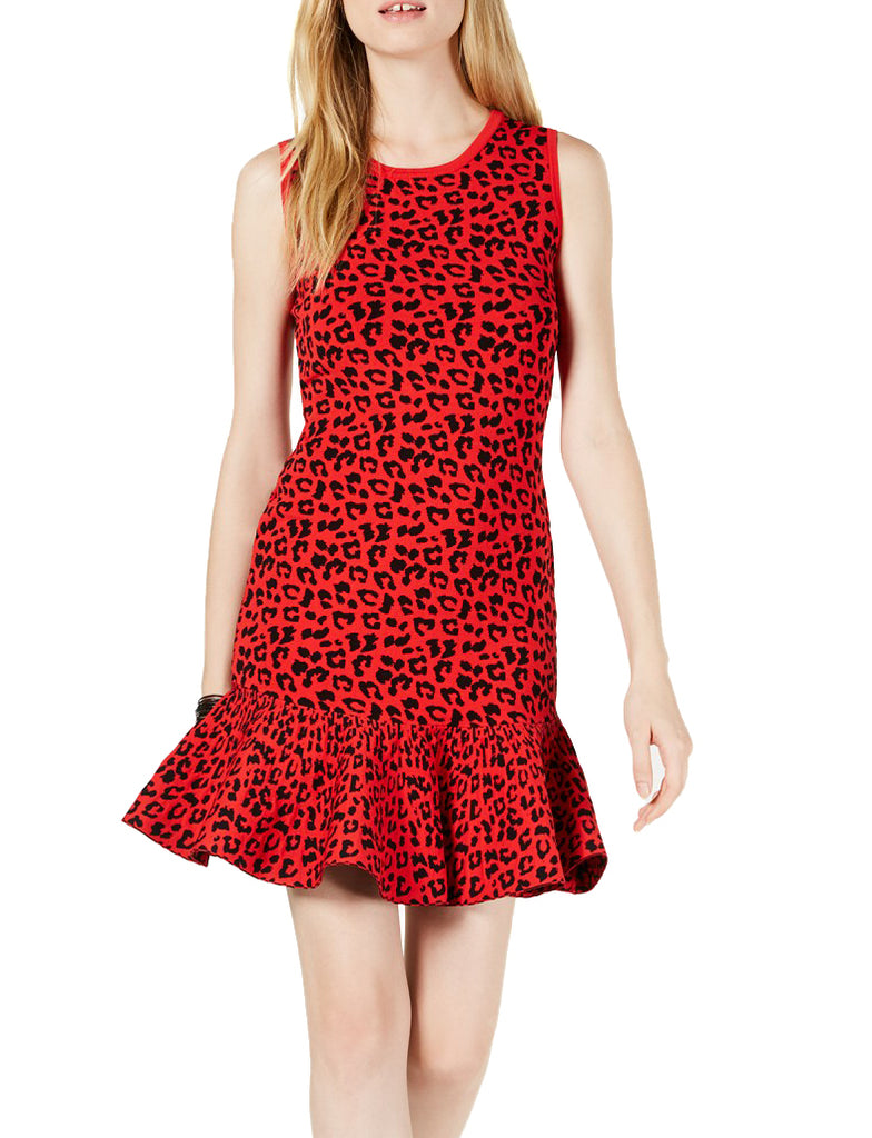 Yieldings Discount Clothing Store's Alberta Dress Sweater by Guess in Black/Red