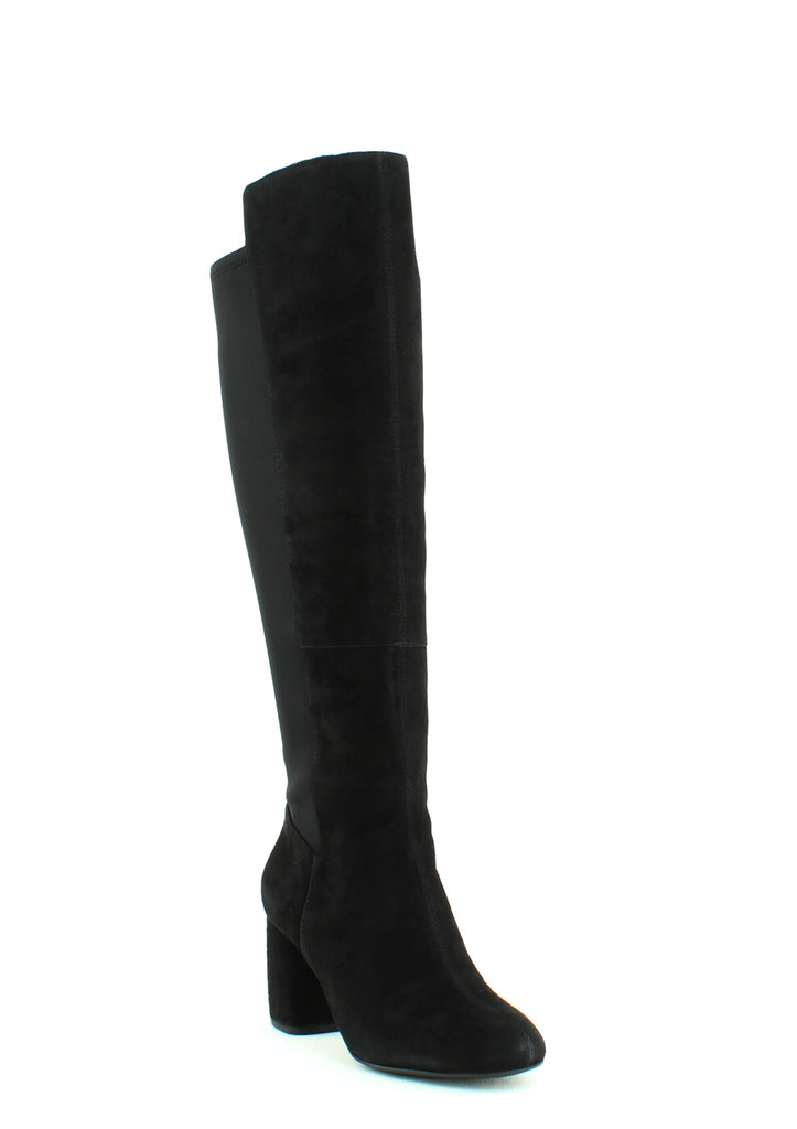 Yieldings Discount Shoes Store's Kerianna Heel Boots by Nine West in Black