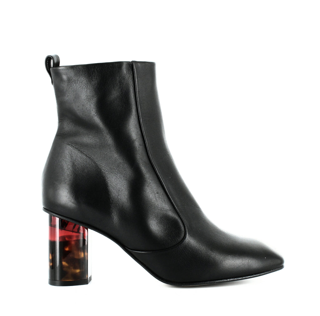 Kurt Geiger | Stride 70 Leather Ankle Booties