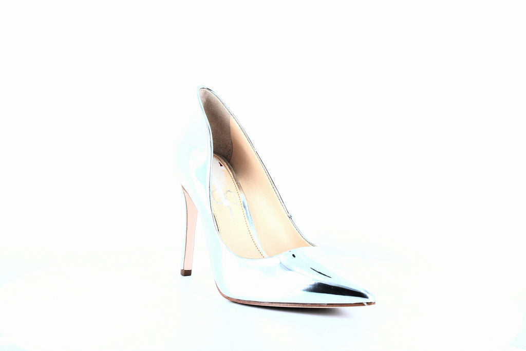 Yieldings Discount Shoes Store's Cassani Pumps by Jessica Simpson in Platinum
