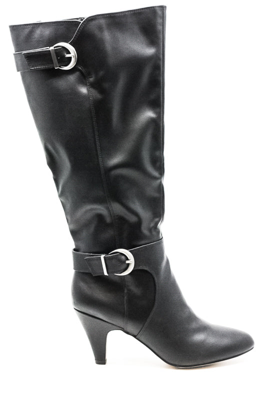 Bella Vita | Toni II Plus Wide Calf Heel Leather Boots