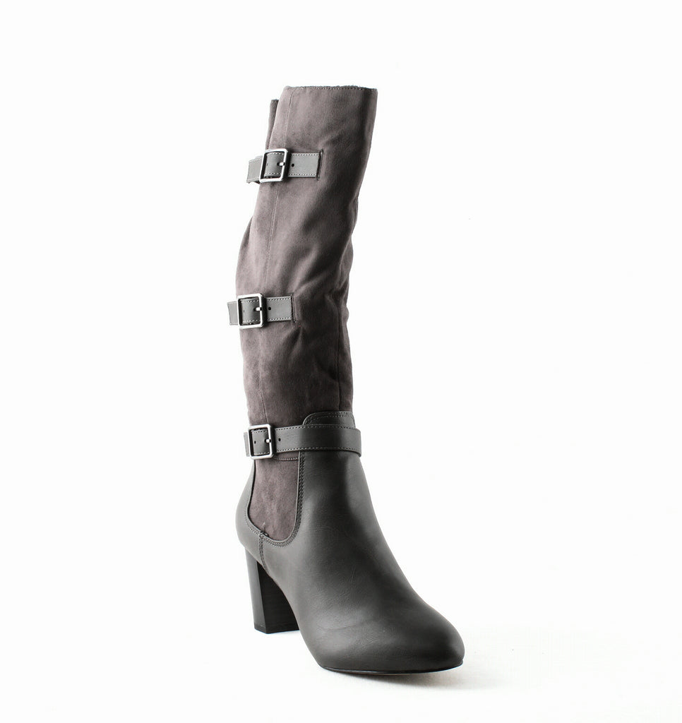 Yieldings Discount Shoes Store's Talina II Tall Boots by Bella Vita in Grey