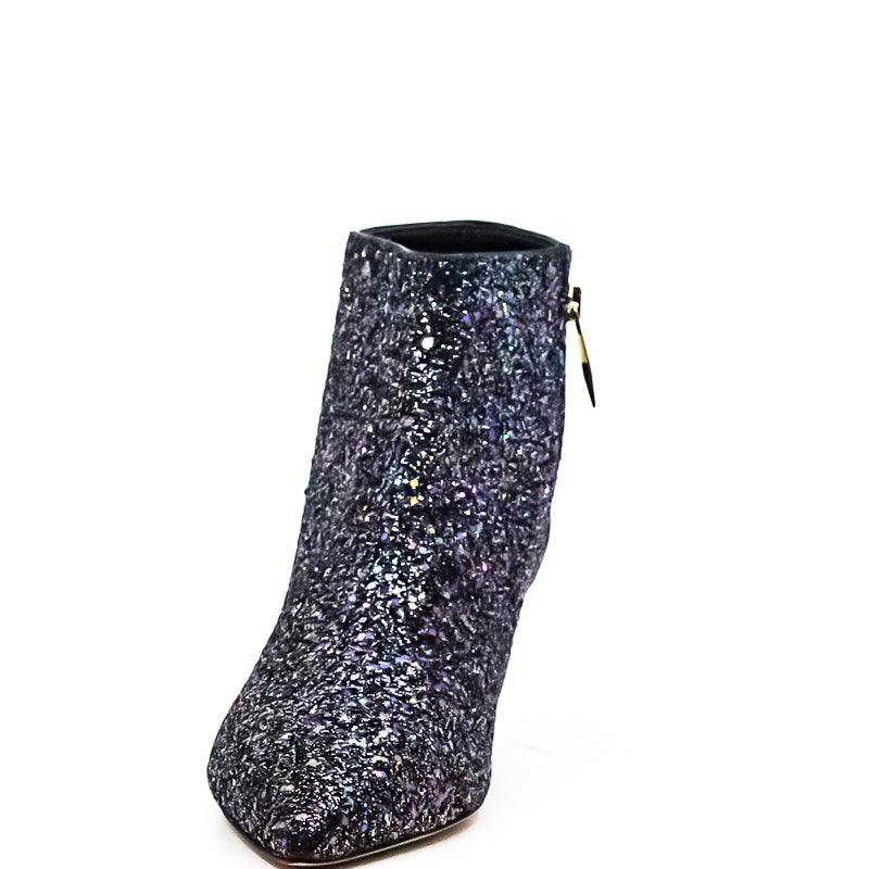 Kate Spade | Olly Too Glitter Kitten Heels Booties