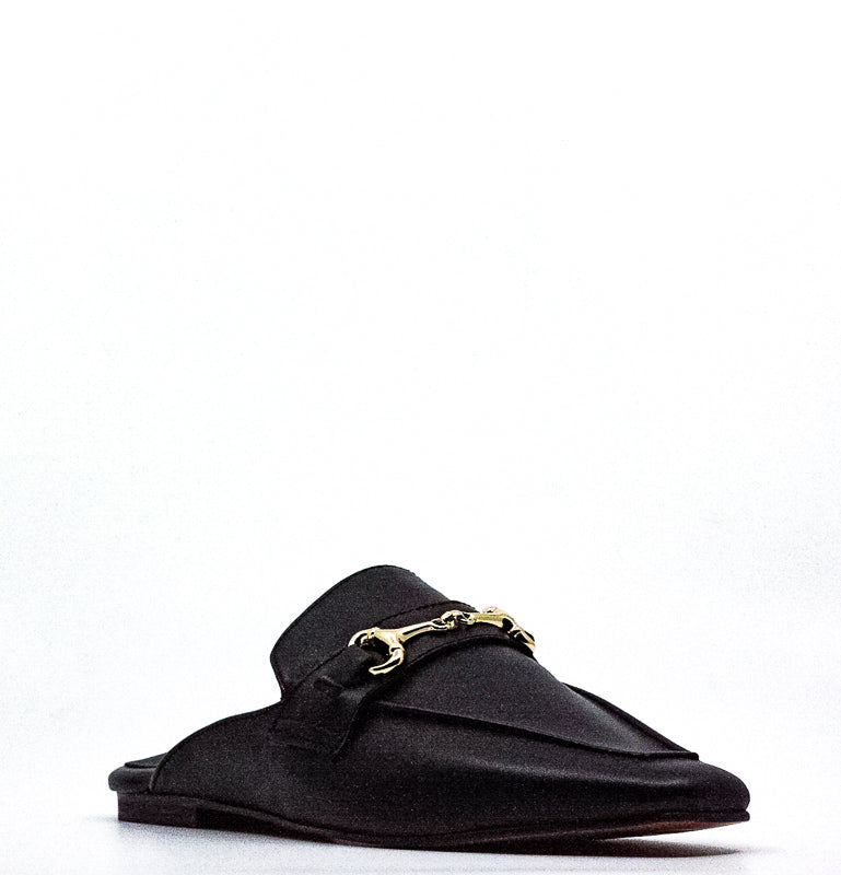 Yieldings Discount Shoes Store's Razzi Suede Slip-Ons by STEVEN By Steve Madden in Black