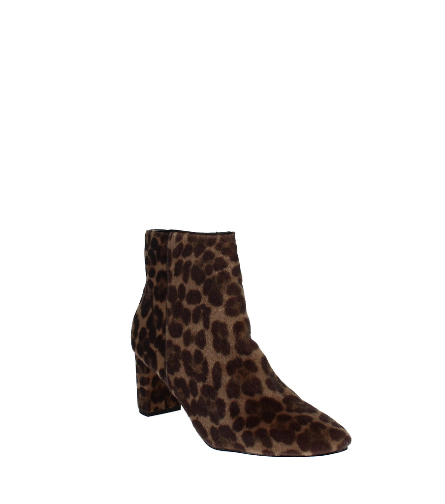 Yieldings Discount Shoes Store's Trin Block Heel Booties by Nine West in Natural Multi