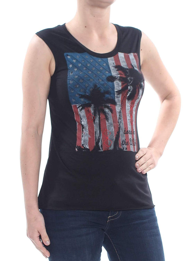 True Vintage | American Flag Born In The USA T-Shirt
