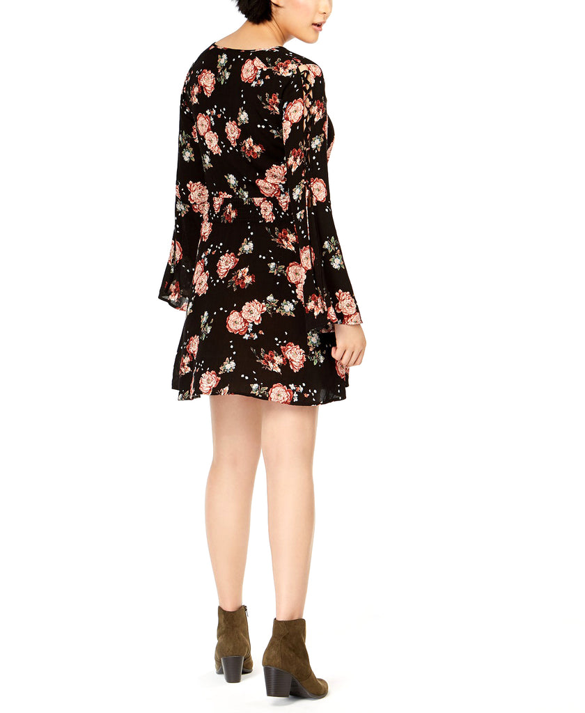 American Rag Cie | Lace-up Bell Sleeve Dress