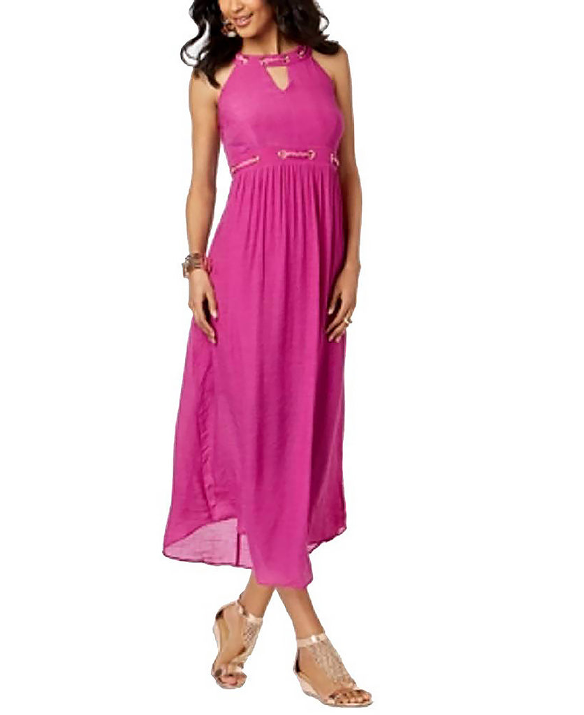 Yieldings Discount Clothing Store's Embellished Maxi Dress by Thalia Sodi in Violet Plum