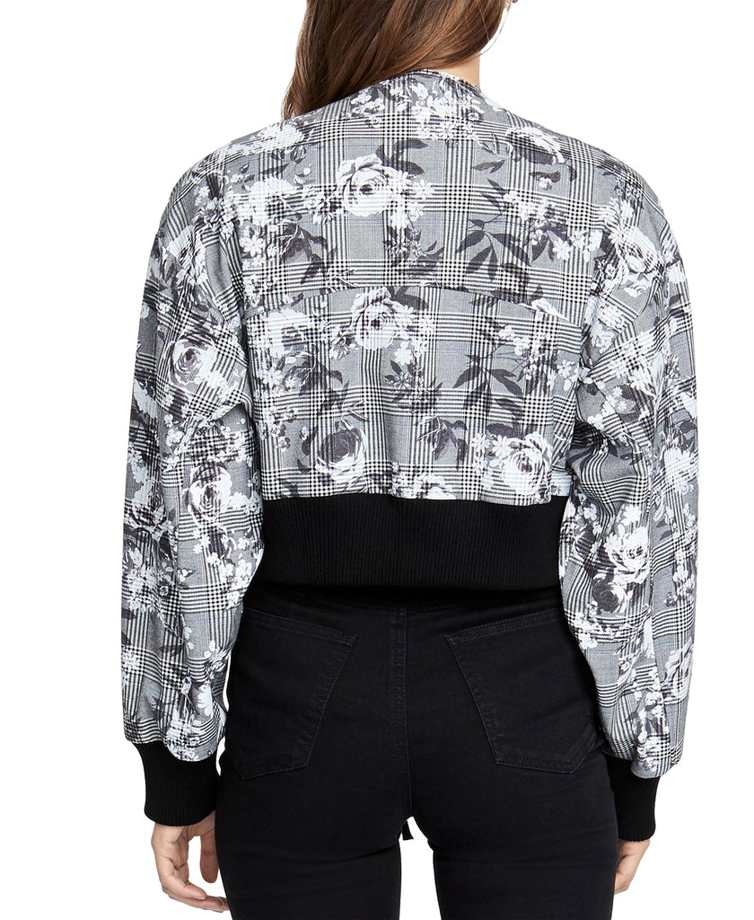 Yieldings Discount Clothing Store's Baldwin Bomber Jacket by RACHEL Rachel Roy in Grey Combo