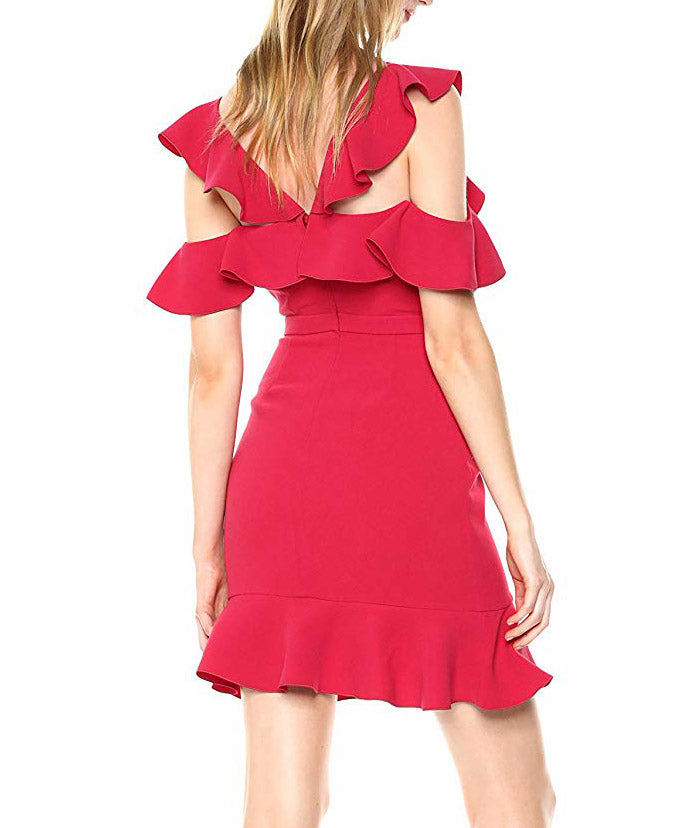 Rachel Zoe | Delia Cold-Shoulder Dress