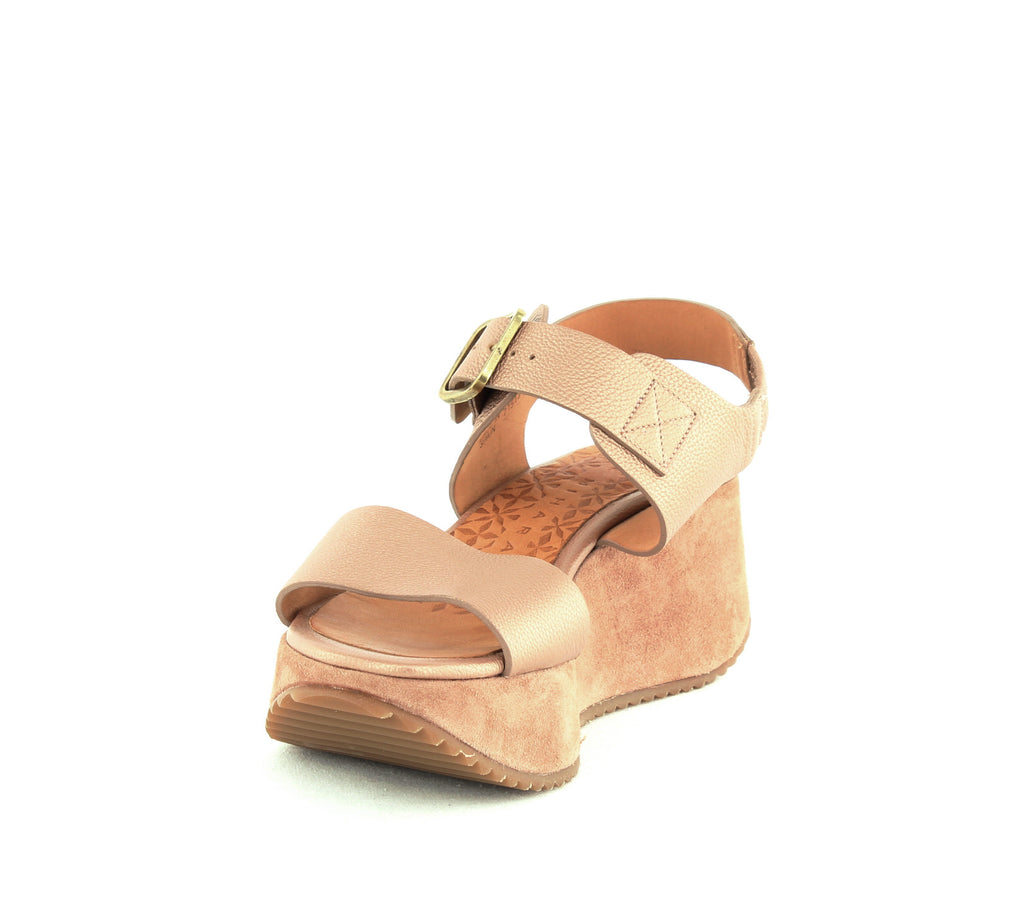 Chie Mihara | Devagar Leather & Suede Wedge Platform Sandals