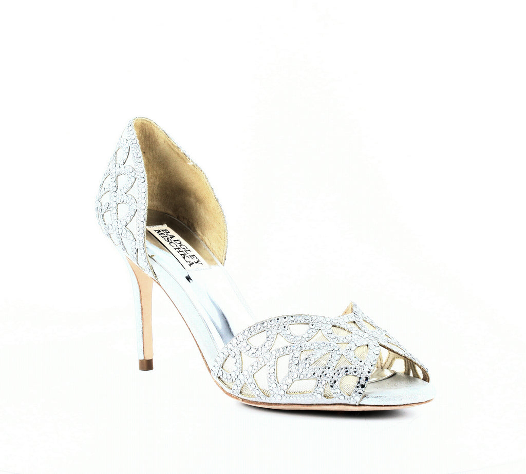 Badgley Mischka | Harris Peep Toe Pumps