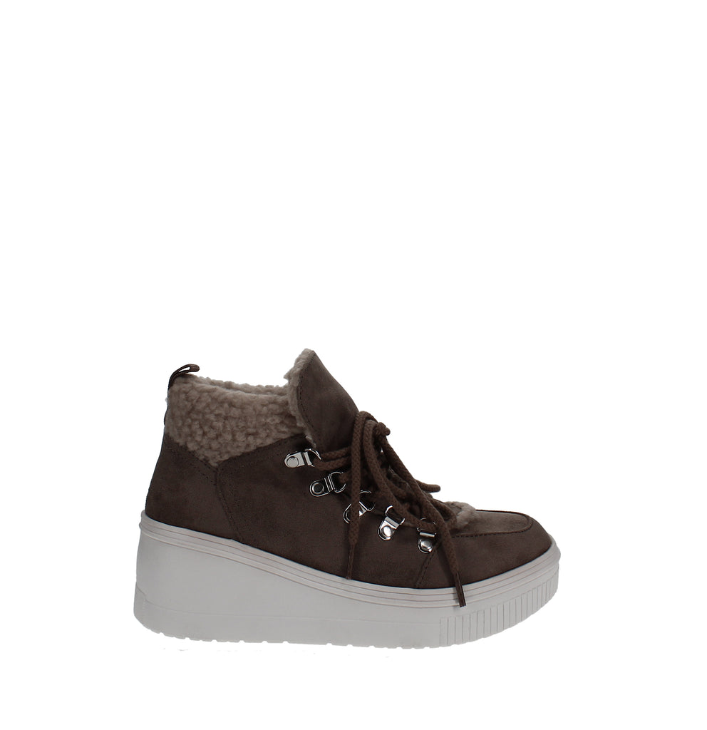 Yieldings Discount Shoes Store's Terra Hiker Sneakers by Madden Girl in Sand
