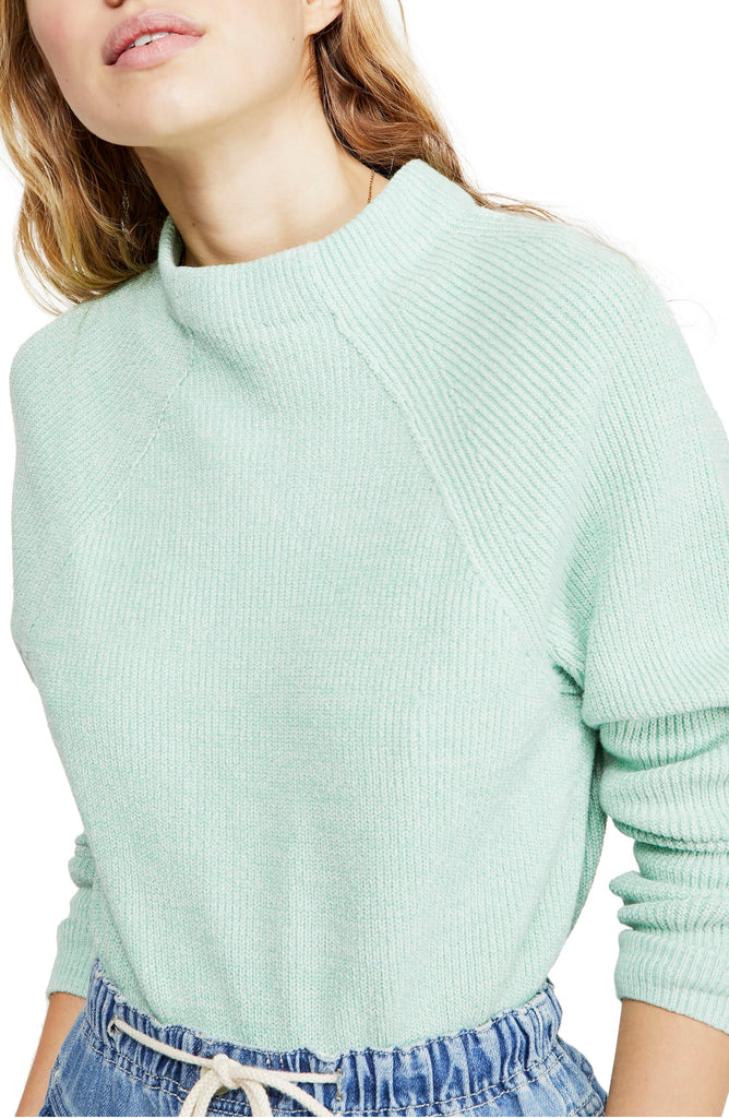 Yieldings Discount Clothing Store's Too Good Sweater by Free People in Opaline Sweater