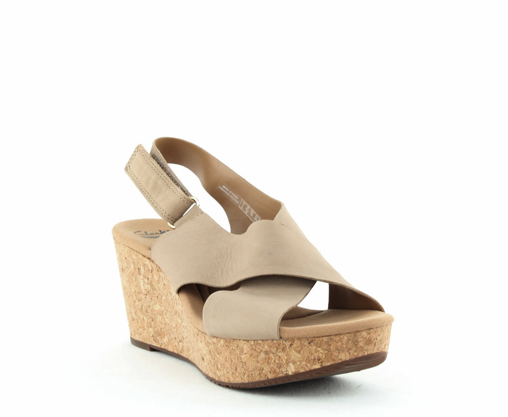 Clarks | Annadel Eirwyn Wedge Sandals