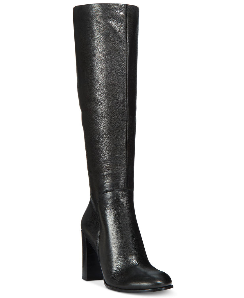 Yieldings Discount Shoes Store's Justin Tall Boots by Kenneth Cole in Black