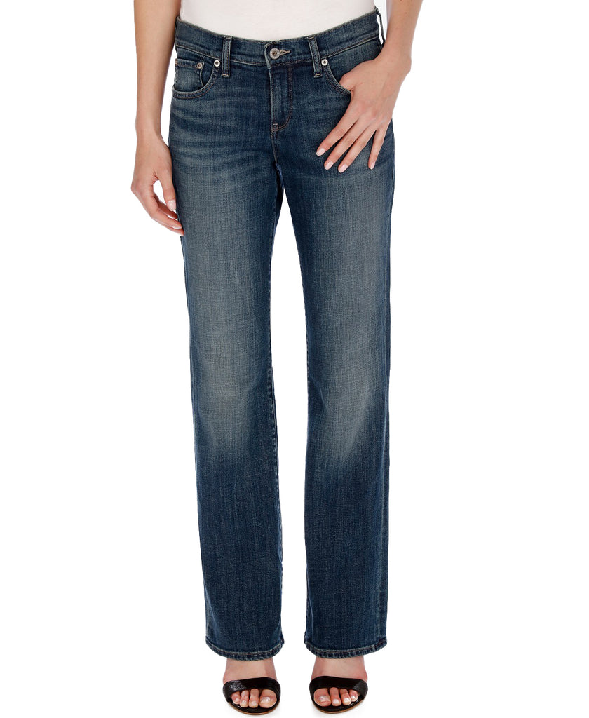 Lucky Brand | Tanzanite Easy Rider Boots Cut Jeans
