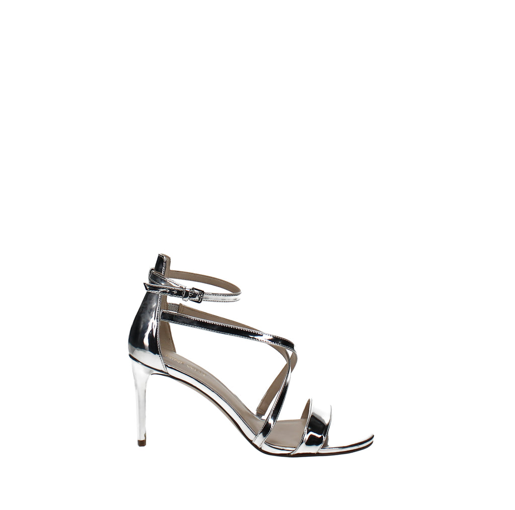 Yieldings Discount Shoes Store's Retail Therapy Heeled Sandals by Nine West in Silver