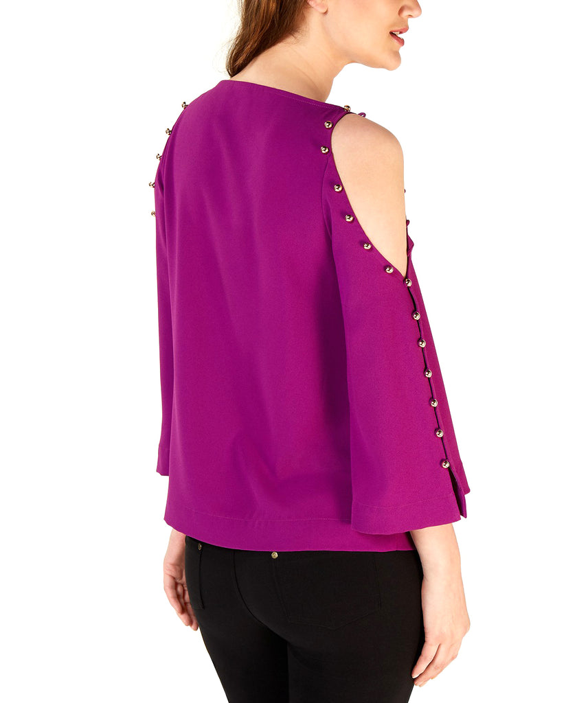 Yieldings Discount Clothing Store's Amor Top by Trina Turk in Purple