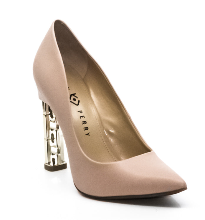 Yieldings Discount Shoes Store's The Suzzie Pump by Katy Perry in Nude