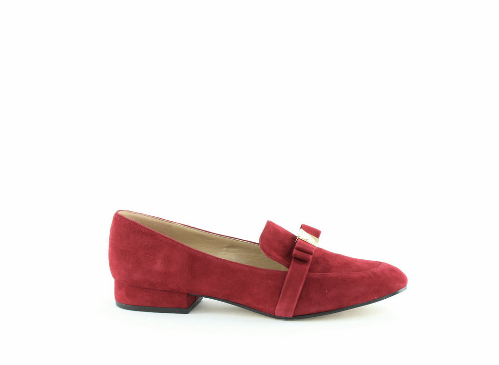 Yieldings Discount Shoes Store's Caroline Loafers by MICHAEL Michael Kors in Maroon
