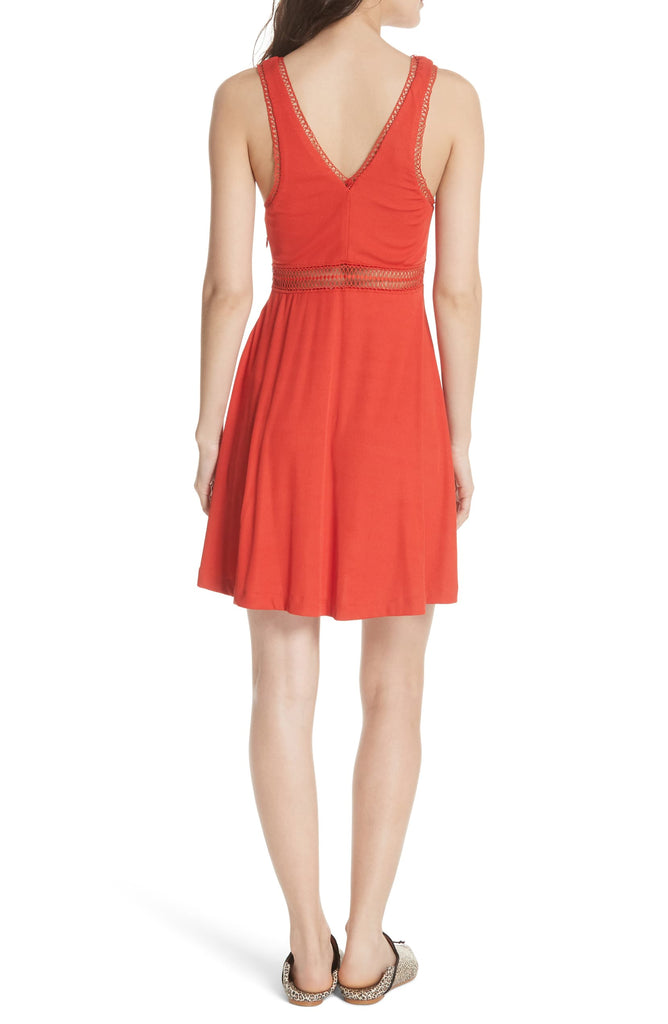 Yieldings Discount Clothing Store's King Of My Heart Minidress by Free People in Red