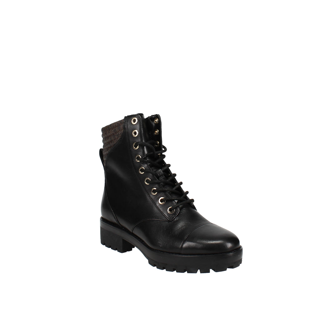 Yieldings Discount Shoes Store's Bastian Lace-Up Ankle Boots by MICHAEL Michael Kors in Black